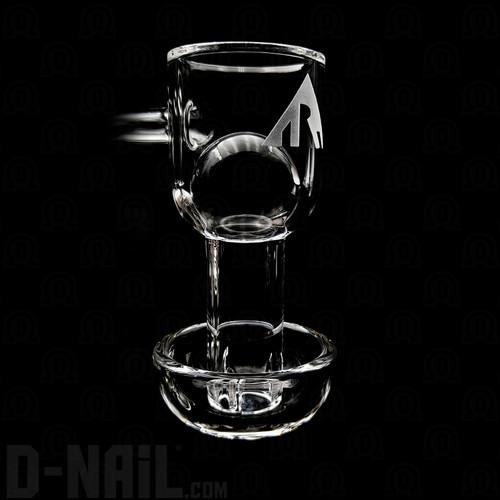XL Pukinbeagle/Rawson Glassworks Slurper with 22mm Quartz Sphere Valve