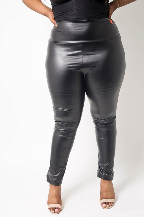 Yes Please!! Faux Leather Leggings
