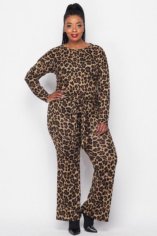 Cheetah Diva Two Piece Set