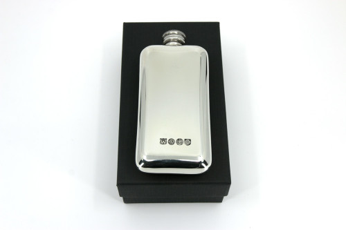 Pewter 3oz Small Pocket Flask