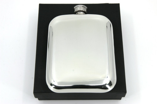6oz Pewter pocket flask