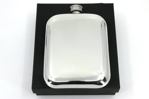 6oz Pewter pocket flask