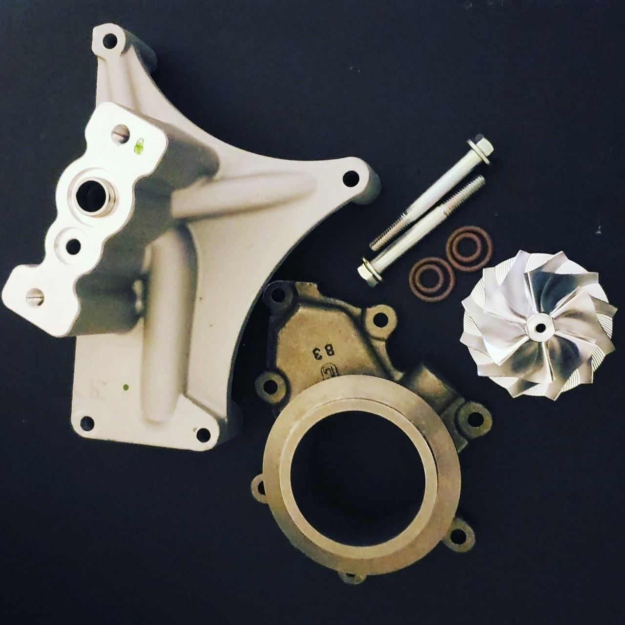 EBC Brakes S1KR1008 Disc Brake Pad and Rotor Kit