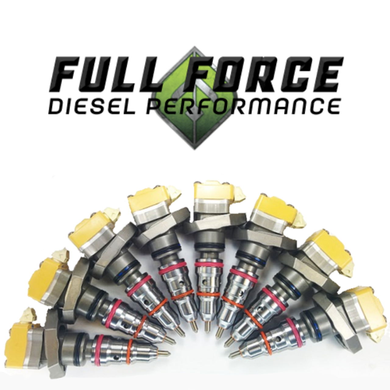 Ffd Stage 1 Injector Set 94 03 7 3l 1023 Diesel Fleet Inc