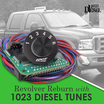 Edge Revolver Reburn with 1023 diesel custom tuning for any modified or stock injectors, transmissions and turbos.