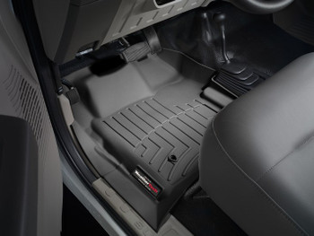 Ford F-Series WeatherTech Floor Liner (Regular Cab) Black (with 4x4 shifter)