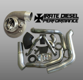 Irate Diesel Complete T4 Kit with S364.5SX-E | OBS 7.3L Powerstroke