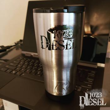 1023 Diesel Engraved  Tumbler 20oz