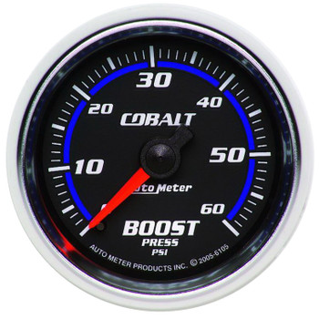 Cobalt Mechanical Boost Gauge (0~60psi) 6105