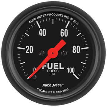 Z-Series Fuel Pressure Gauge (0-100psi) 2663