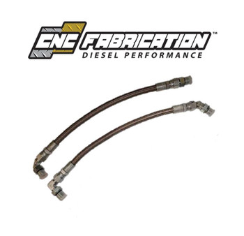 CNC Fabrication OBS HPOP Line Set | 94-97 7.3L Powerstroke