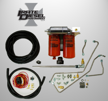 Irate Diesel Complete OBS Fuel System | 94-97 7.3L