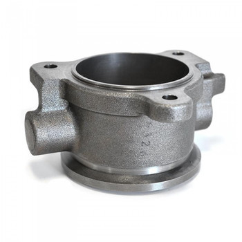 High Flow (non-ebpv) Turbo Outlet   94-97 7.3L If you've replaced your stock pedestal with a non-ebpv pedestal and looking for an easy way to remove the butterfly valve assembly post turbo, simply replace it with this bolt-on non-ebpv turbo outlet.