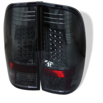 SUPER DUTY 99-07 LED TAIL LIGHT - SMOKED