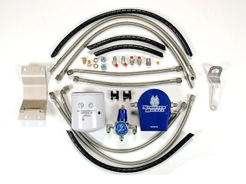 Sinister Diesel Regulated Fuel Return Kit | 99~03 7.3L Powerstroke