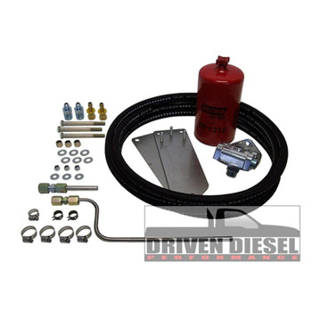 Driven Diesel Hutch Mod - Pre-Pump Kit | 99~03 7.3L Powerstroke