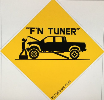 F'n Tuner Sticker Decal