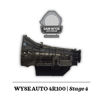 SAM WYSE 4R100/E4OD | FULL BILLET STAGE 4 | 1,000+HP Sam Wyse Has been building ford transmissions for over 10 years and continues to build some of the best E4OD, 4R100, 5R110 and 6R140 Transmissions available. You can rest assured when buying a Sam Wyse transmission that you are going to be receiving the best.