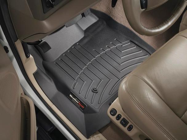 Ford F-Series WeatherTech Floor Liner (Regular Cab) Black (w/o 4x4 shifter)