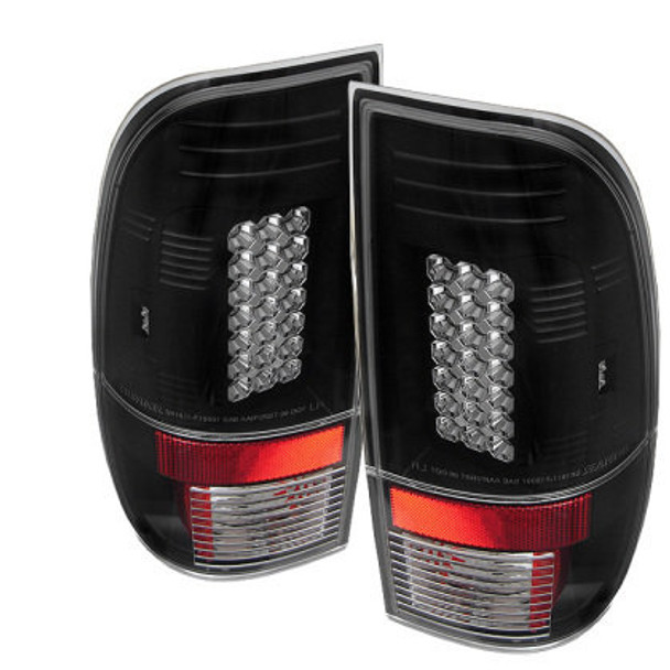 SUPER DUTY 99-07 LED TAIL LIGHT - BLACK