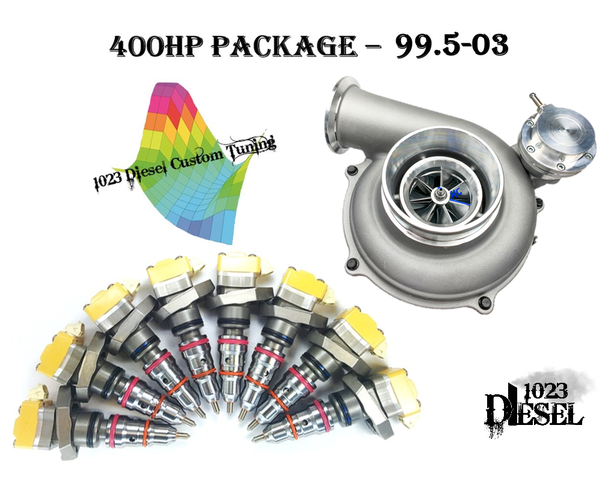 7.3 Powerstroke 400hp package. This kit will make around 400hp from your 7.3 Powerstroke