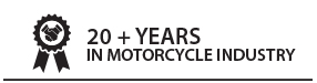 Over 20 Years in the Motorcycle industry