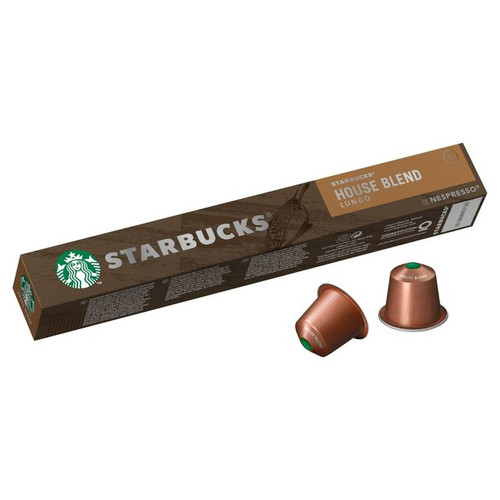 Starbucks - House Blend Lungo Sleeve ( 10 Capsules )