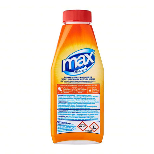 Max Strength Drain Unblocker 500ml