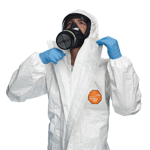 DuPont™ Tychem® 4000 Hooded Coverall