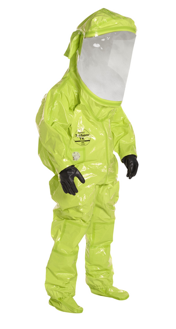 DuPont™ Tychem® TK 554T, Level A Suit WIth Face Shield