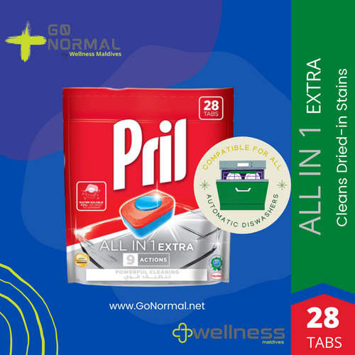 Pril All in 1 Automatic Dishwashing Tabs