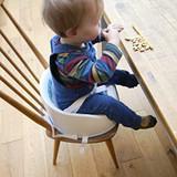 Cómo cambiar a tu bebé a un asiento elevado