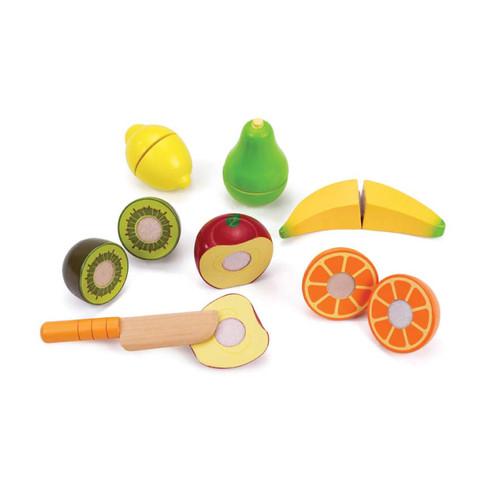 Fruta Fresca cortable de madera