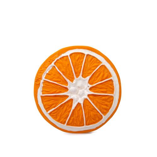 Naranja - Masticador Natural de Caucho