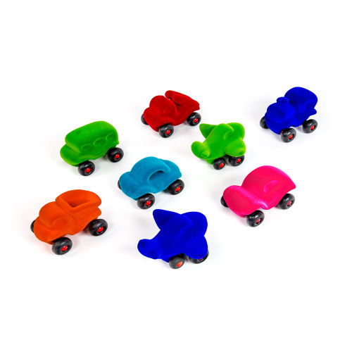 Vehicles de colores sensoriales