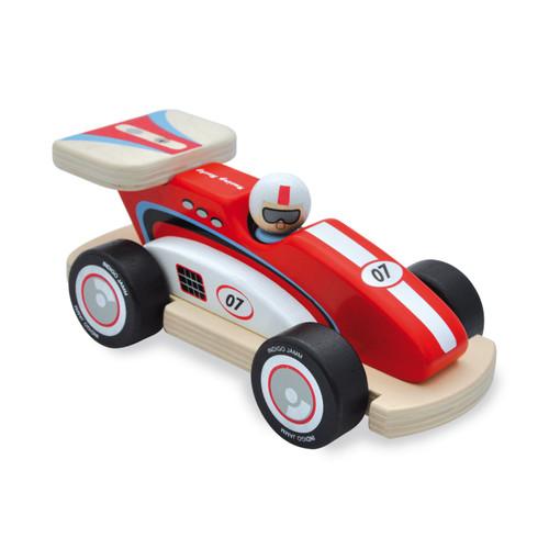 Auto de Carreras de Madera - Rocky Indigo Jamm