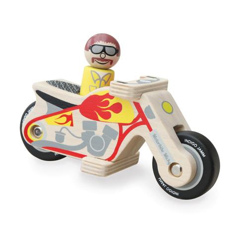 Moto de Madera -Mickey Indigo Jamm