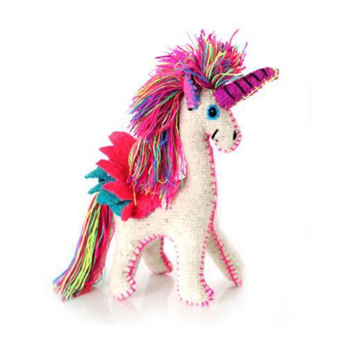 Unicornio Decorativo Hecho a Mano