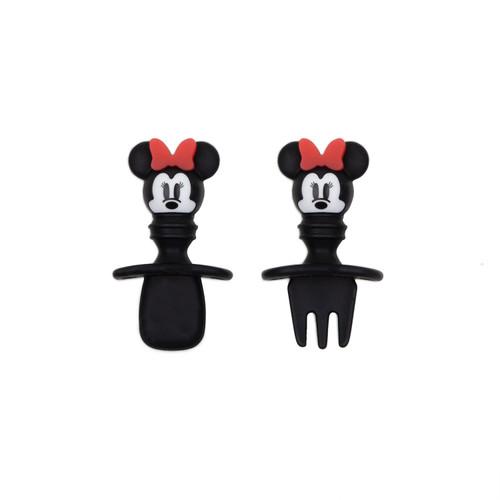 cubiertos de Silicona Chewtensils Minnie Mouse