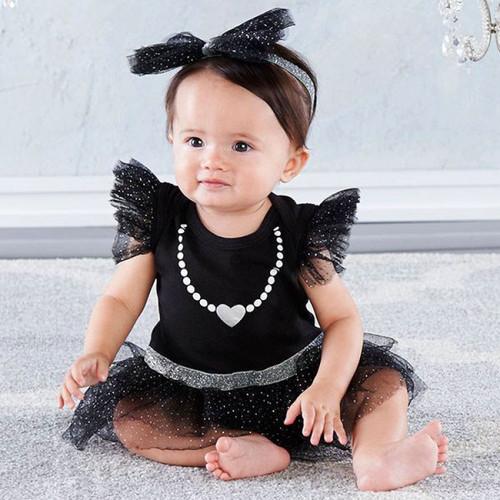 Set de Bebe Mi Primer Vestido de Fiesta