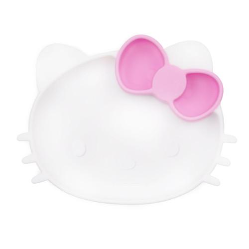 Plato de Silicona con Ventosa de Hello Kitty