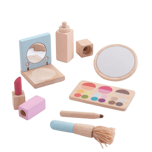 Set de Maquillaje de Madera