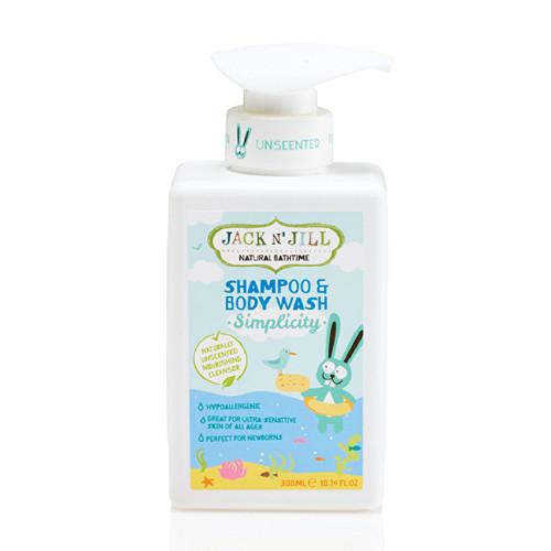 Shampoo y Gel de Baño Natural -Simplicity