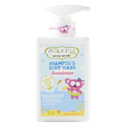 Shampoo y Gel de Baño Natural -Sweetness