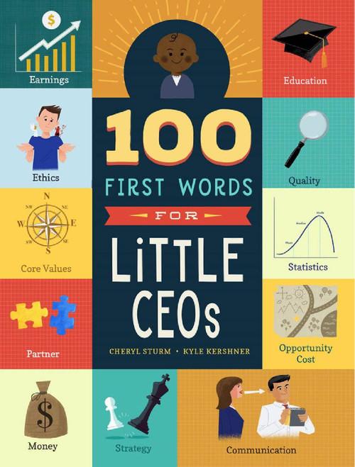 100 Primeras Palabras para Pequeños CEO's (Libro en Inglés)