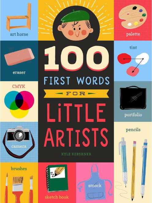 100 Primeras Palabras para Pequeños Artistas (Libro en Inglés)