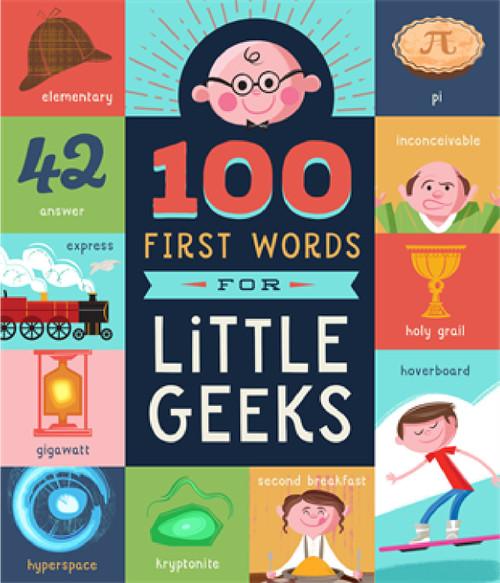 100 Primeras Palabras para Pequeños Nerds (Libro en Inglés)