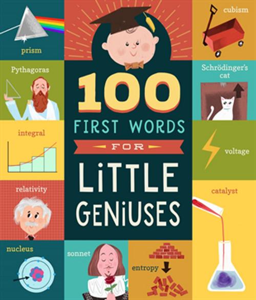 100 Primeras Palabras para Pequeños Genios (Libro en Inglés)