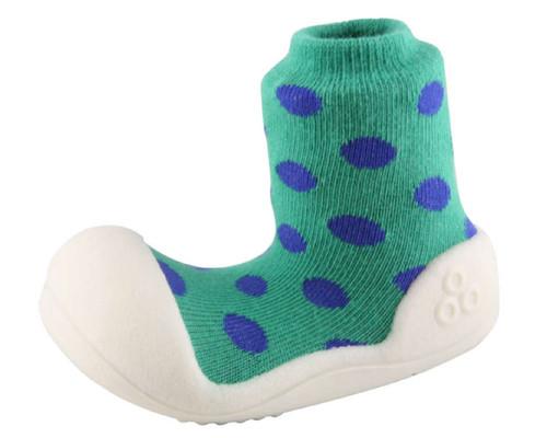 Zapatos tipo media de Bebe- Verde