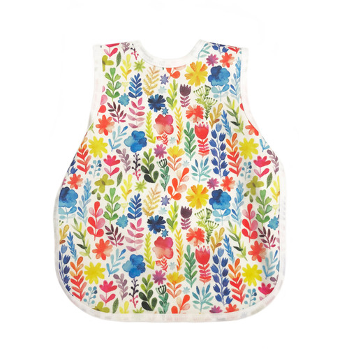 Babero BapronBaby® Rainbow Watercolor Floral